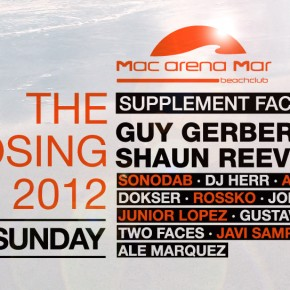 The Closing Party 2012: SUPPLEMENT FACTS & FRIENDS