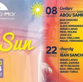After Sun :: AUGUST 2014 :: Mac Arena Mar :: Beach Club :: 15:00H-3:00H
