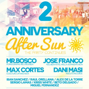 2º ANIVERSARIO AFTERSUN PARTY :: 18 DE JULIO 2014 :: MAC ARENA MAR