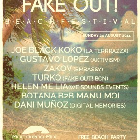FAKE OUT! 15HS BEACH FESTIVAL, AUGUST SUNDAY 24TH