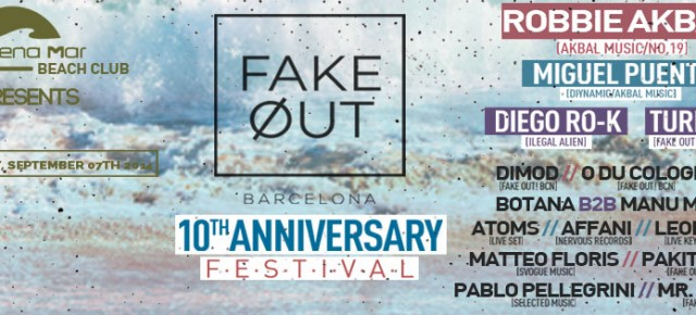 FAKE OUT! 10TH ANIVERSARY BEACH FESTIVAL, SEPTEMBER SUNDAY 07TH