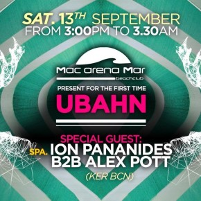 UBAHN Underground - @Mac Arena Beach - September, Saturday 13TH