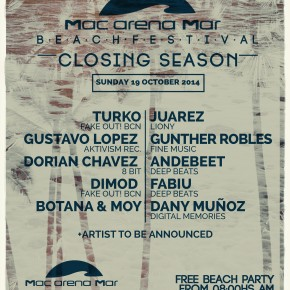 MACARENA MAR CLOSING SEASON, 20 HS BEACH PARTY